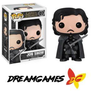 Figurine Pop Game of Thrones 07 Jon Snow