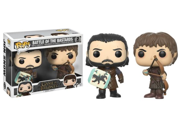 Funko Pop! Game of Thrones Battle of the Bastards 2 Pack 1