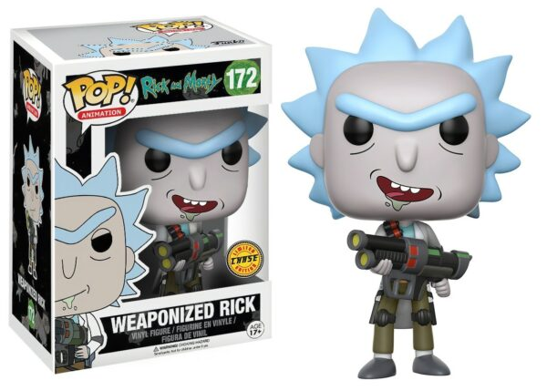 Funko PoP! Rick and Morty 172 WEAPONIZED RICK CHASE 1