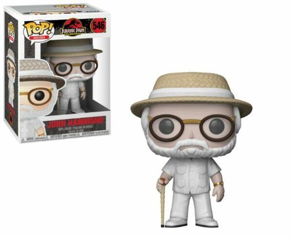 Funko Pop! Jurassic Park 546 John Hammond (Not mint) 1