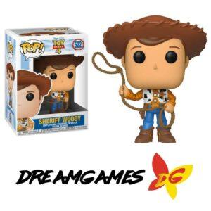 Figurine Pop Toy Story 4 522 Sherif Woody