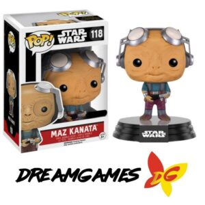 Figurine Pop Star Wars 118 Maz Kanata No Glasses