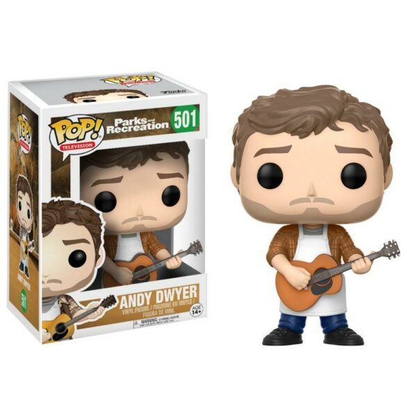 Funko Pop Parks and Recreation 501 Andy Dwyer