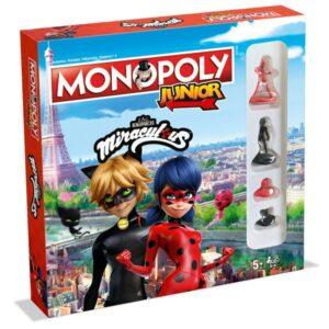 Monopoly Junior Miraculous Lady Bug