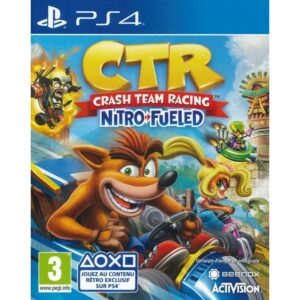 CTR Crash Team Racing Nitro Fueled PS4