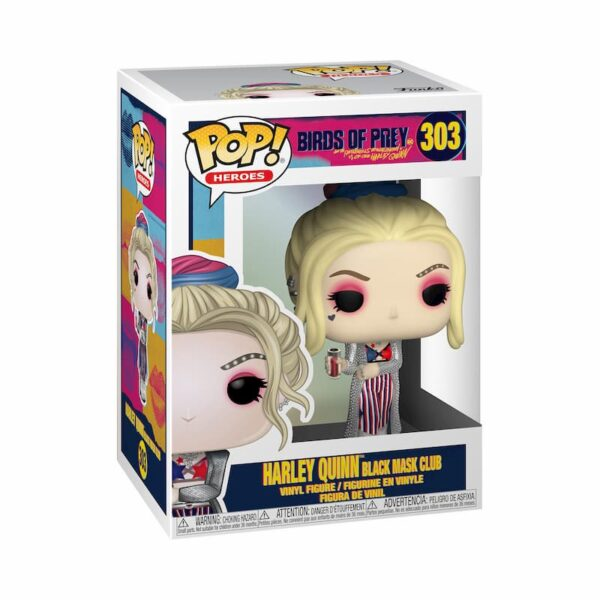 Figurine Pop Birds of Prey 303 Harley Quinn 1