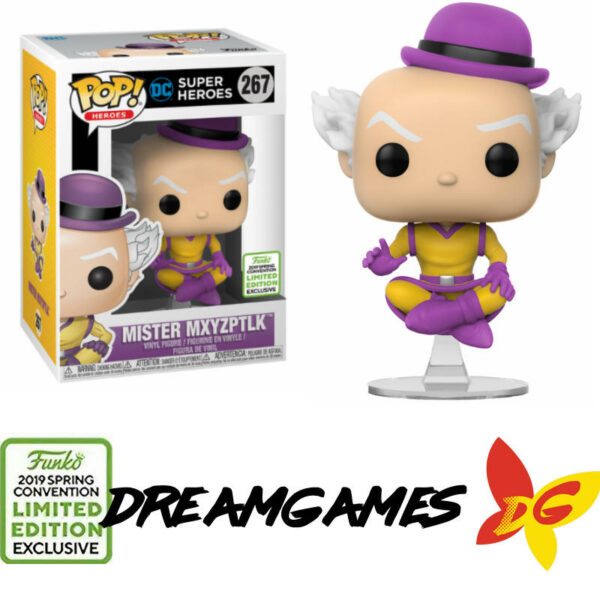 Figurine Pop DC Super Heroes 267 Mister Mxyzptlk ECCC 2019 Spring Convention Limited Edition Exclusive