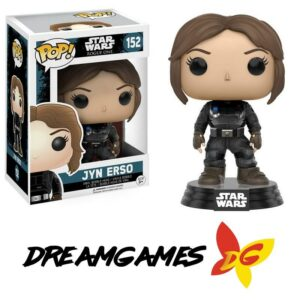 Figurine Pop Star Wars Rogue One 152 Jyn Erso Imperial Disguise VAULTED