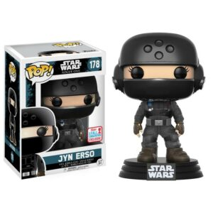 Figurine Pop Star Wars Rogue One 178 Jyn Erso NYCC 2017 Fall Convention Exclusive VAULTED