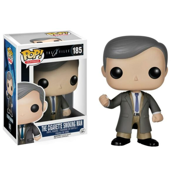 Figurine Pop the X-Files 185 The Cigarette Smoking Man VAULTED
