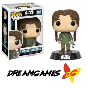 Figurine Pop Star Wars Rogue One 185 Young Jyn Erso VAULTED