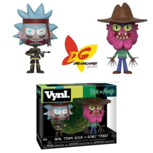 Vynl Rick and Morty Seal Team Rick + Scary Terry