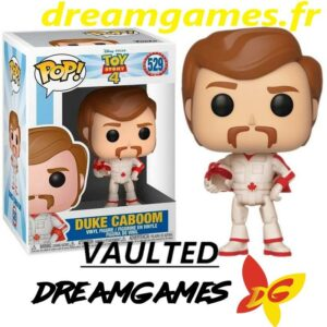 Figurine Pop Toy Story 4 529 Duke Caboom VAULTED