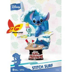 Diorama D-Stage Disney Stitch Surf 030
