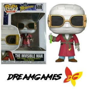 Figurine Pop Monsters 608 The Invisible Man