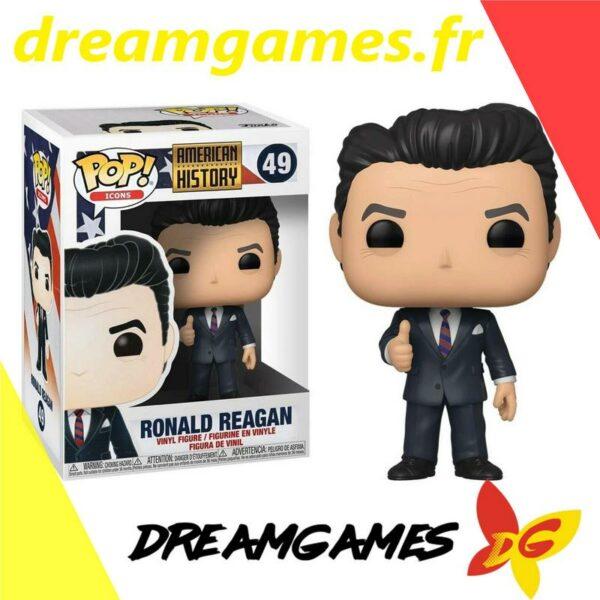 Figurine Pop American history 49 Ronald Reagan