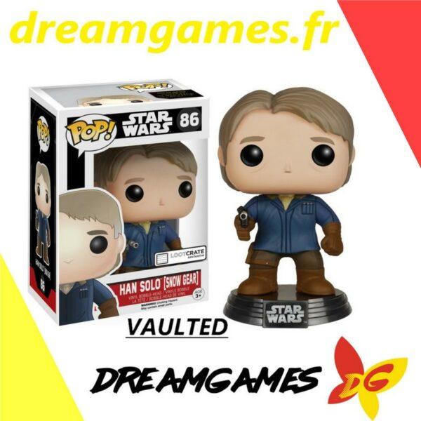Figurine Pop Star Wars 86 Han Solo Snow Gear VAULTED