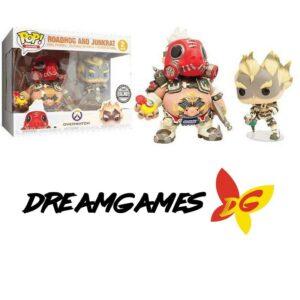 Figurines Pop Overwatch 2pack Roadhog and Junkrat