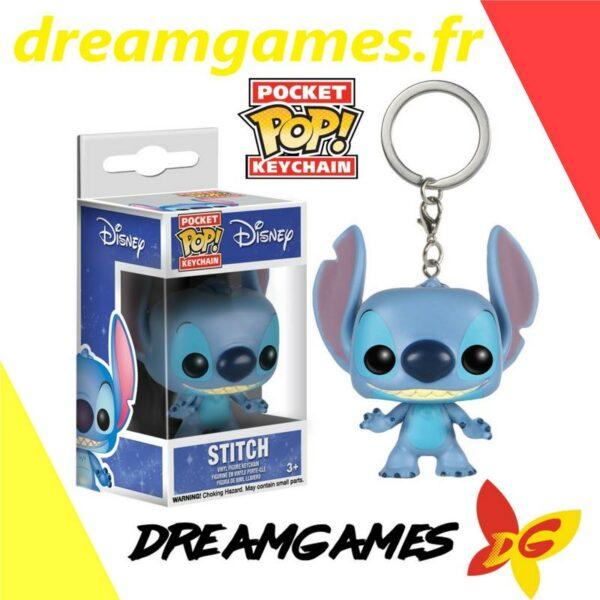 Stitch Pocket Pop Disney keychain