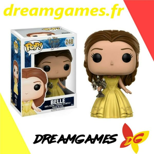 Figurine Pop Beauty and the Beast 248 Belle with candlestick