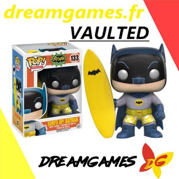 Figurine Pop Batman 133 Surf's up Batman VAULTED