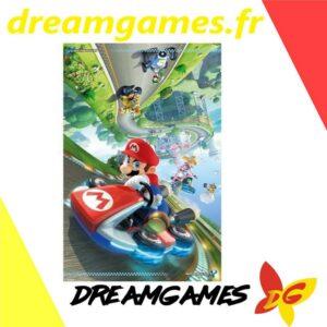 Poster 61 x 91,5 cm Mario Kart 8