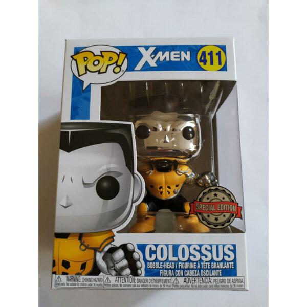 Figurine Pop X Men 411 Colossus Chrome