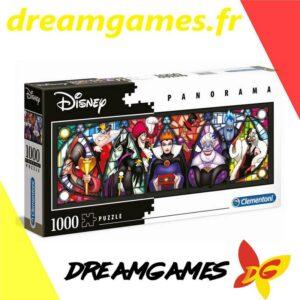 Puzzle Disney méchants 1000 pièces