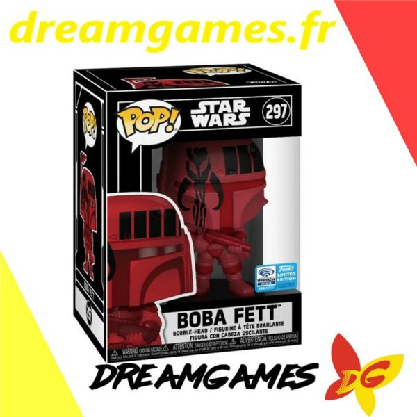 Figurine Pop Star Wars 297 Boba Fett