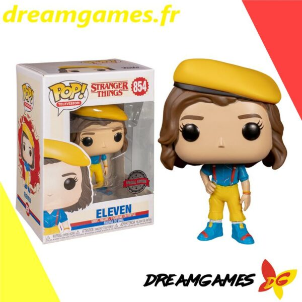 Figurine Pop Stranger Things 854 Eleven yellow outfit