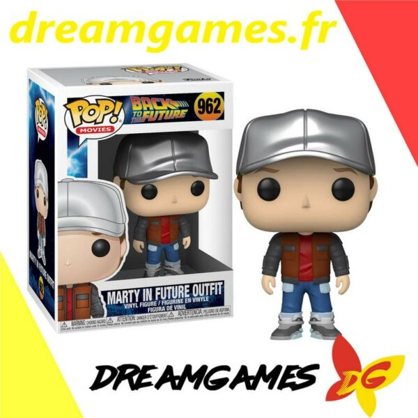 Figurine Pop Back to the Future 962 Marty in future outfit