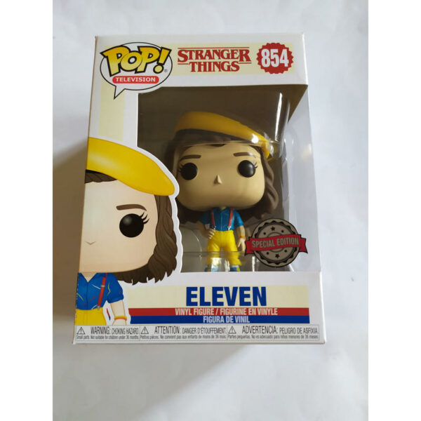 Figurine Pop Stranger Things 854 Eleven yellow outfit 1