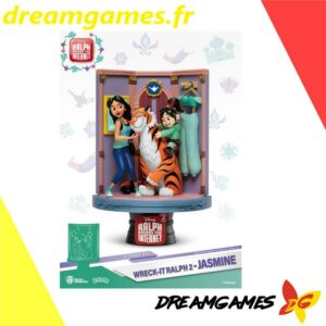 Diorama Stage 025 Wreck-It Ralph 2 Jasmine