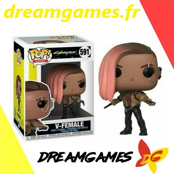 Figurine Pop Cyberpunk 591 V-Female