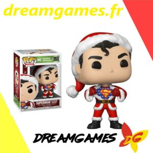 Figurine Pop DC 353 Superman in holiday sweater