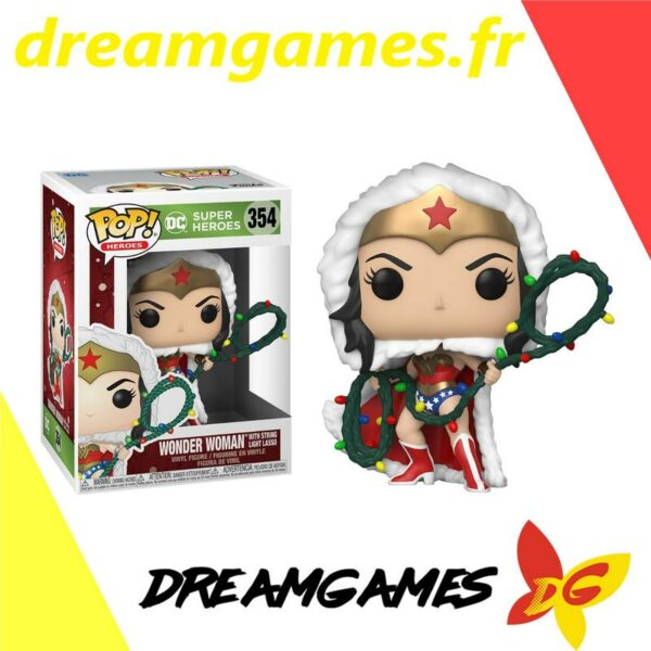 Figurine Pop DC Holiday 354 Wonder Woman Holiday (Not mint) 1