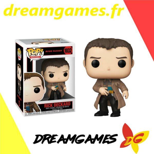 Figurine Pop Blade Runner 1032 Rick Deckard