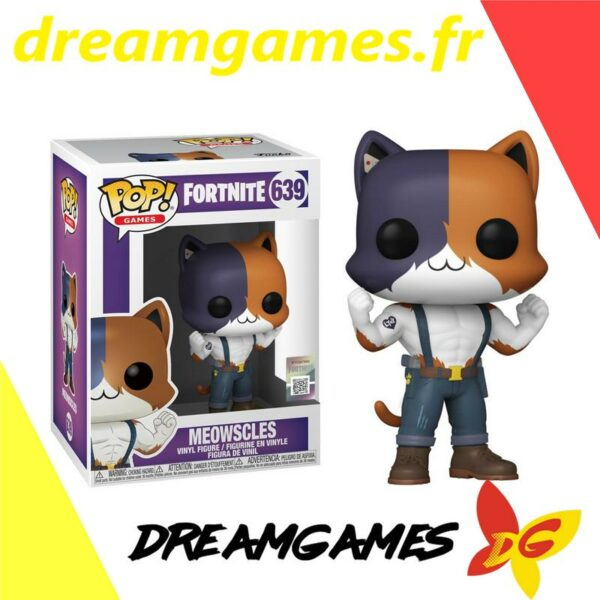 Figurine Pop Fortnite 639 Meowscles
