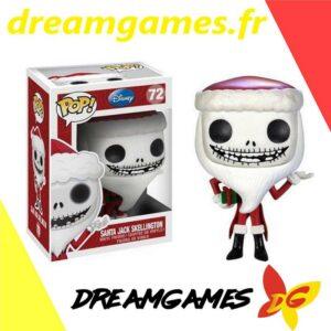 Figurine Pop Disney 72 Santa Jack Skellington