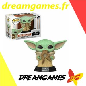 Figurine Pop Star Wars 379 The Child with frog