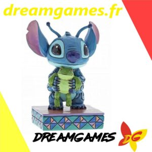 Figurine Disney Traditions Stitch with frog