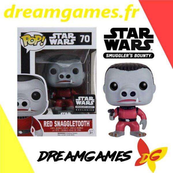 Figurine Pop Star Wars 70 Red Snaggletooth
