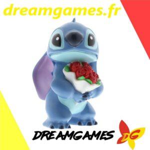 Figurine Disney Showcase Stitch with flowers