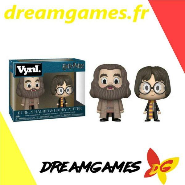 Vynl Rubeus Hagrid + Harry Potter