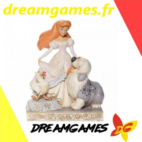 Figurine Disney Traditions Ariel White Woodland
