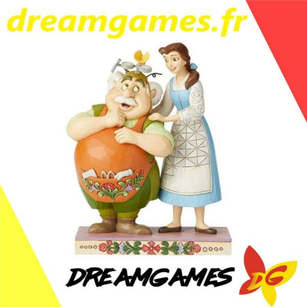 Figurine Disney Traditions Belle and Maurice