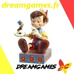 Disney Traditions Pinocchio and Jiminy Cricket