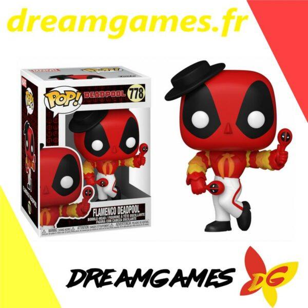 Figurine Pop Deadpool 778 Flamenco Deadpool