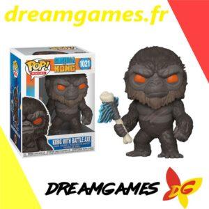 Figurine Pop Godzilla vs Kong 1021 Kong with battle axe