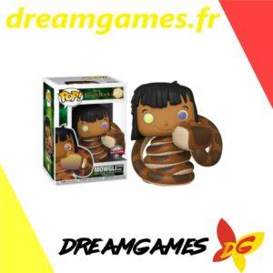 Figurine Pop Disney 987 Mowgli with Kaa